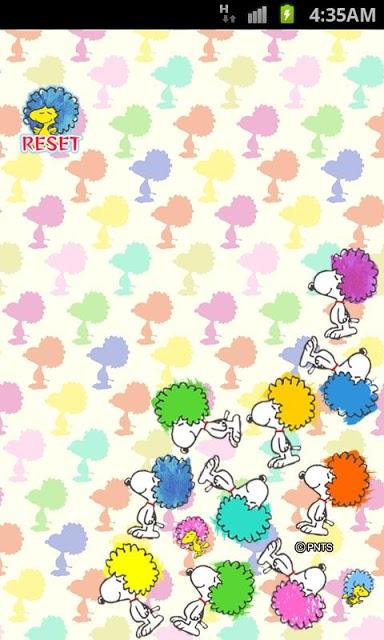 「アフロ☆スヌーピー」ライブ壁紙のスクリーンショット_2