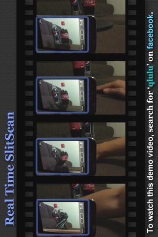 ゴム人間カメラ -スリット スキャン RTのスクリーンショット_5