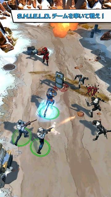 キャプテン・アメリカ:ウィンター・ソルジャー – 公式ゲームのスクリーンショット_2