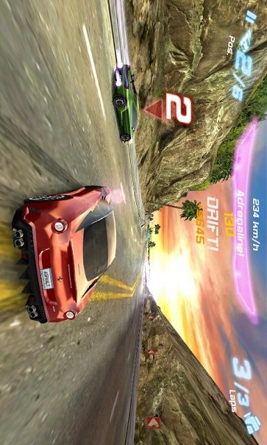 アスファルト6:Adrenalineのスクリーンショット_4