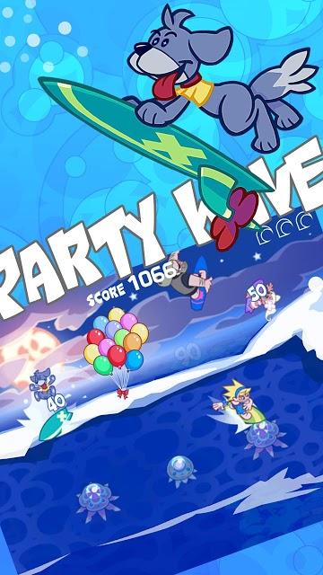 Party Wave Freeのスクリーンショット_2