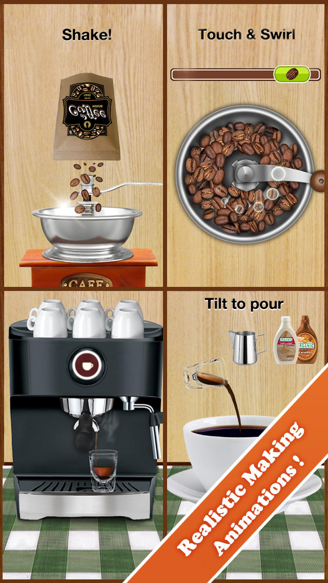 Coffee Maker for Kidsのスクリーンショット_2