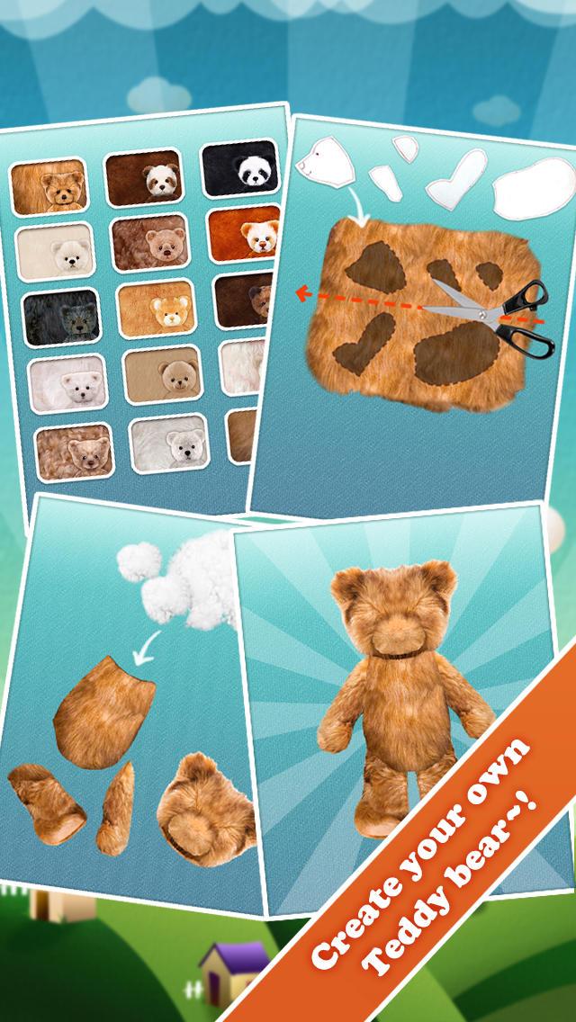 Teddy Bear Maker for Kidsのスクリーンショット_1