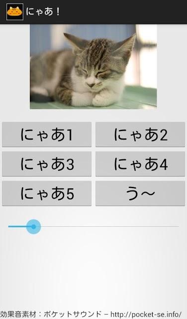 にゃあ!のスクリーンショット_1