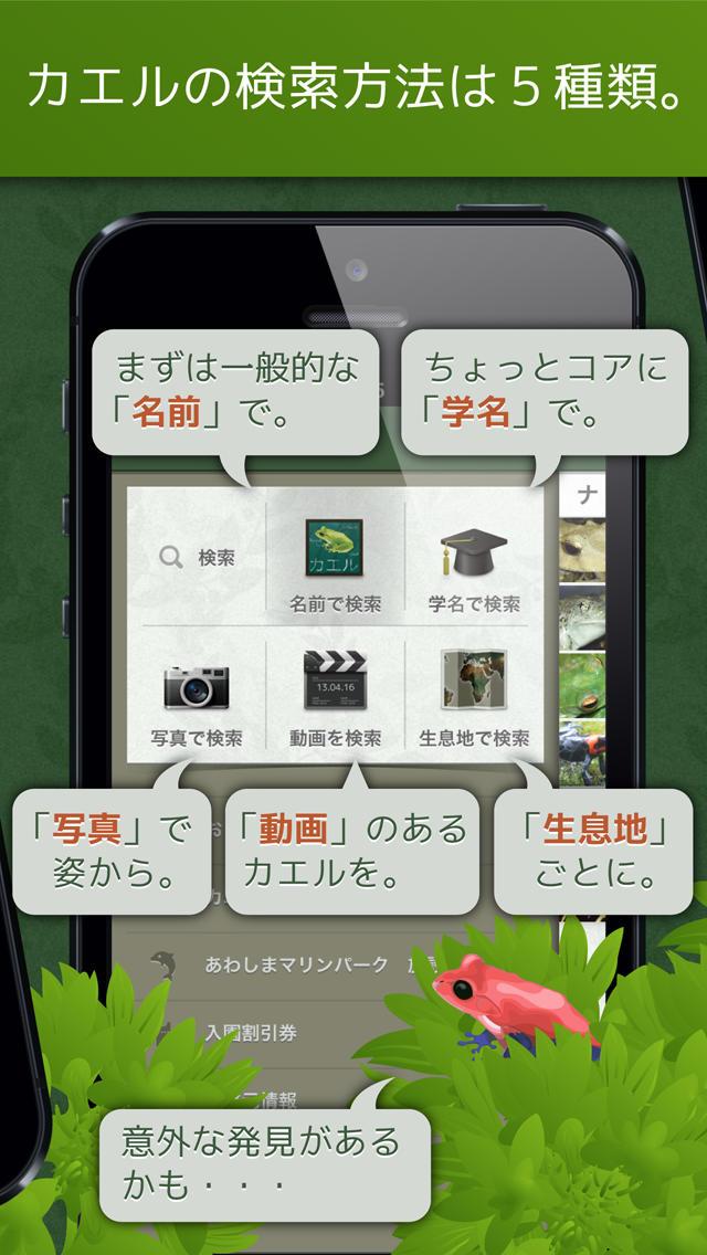 あわしま世界のカエル図鑑FREEのスクリーンショット_2