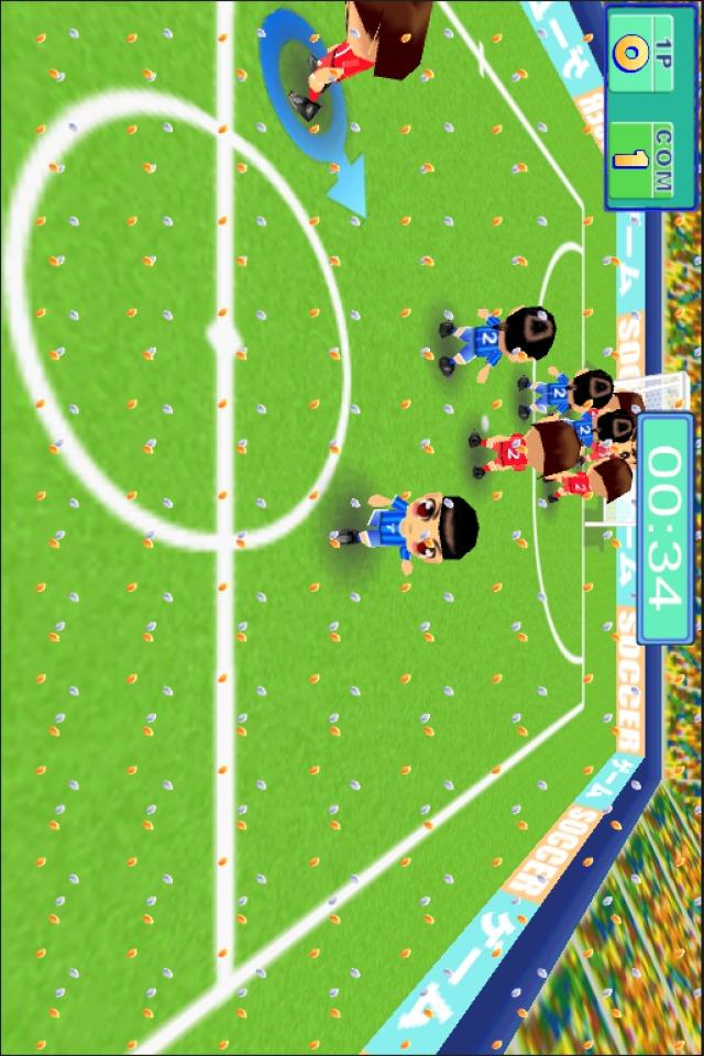 THE フットサル for Mobage(モバゲー)のスクリーンショット_2