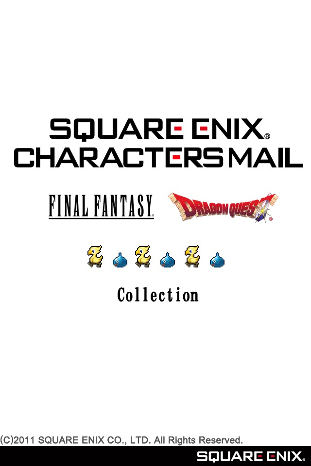 SQUARE ENIX CHARACTERS MAILのスクリーンショット_1