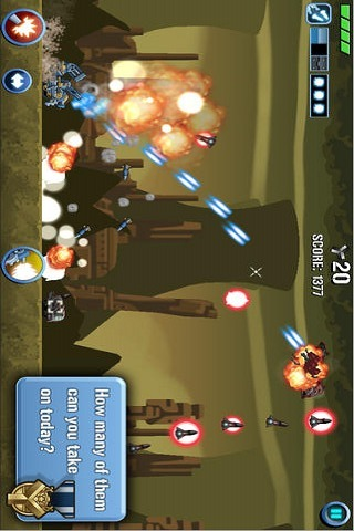 Scrap Tank : Armed Defenderのスクリーンショット_3
