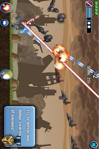 Scrap Tank : Armed Defenderのスクリーンショット_4
