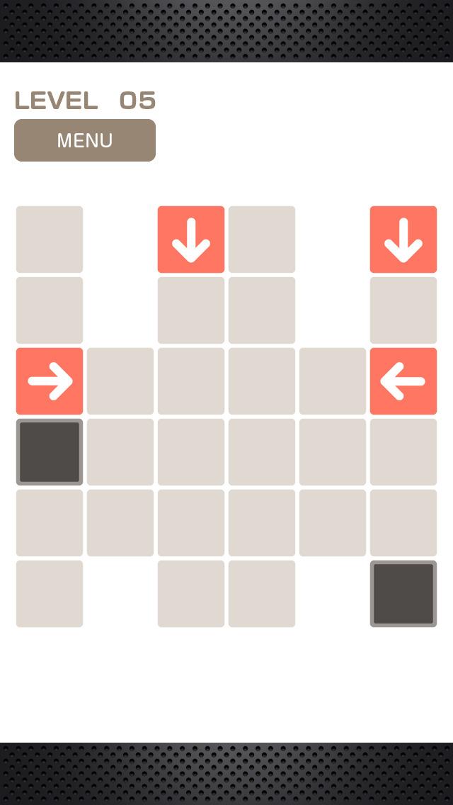 Arrowed 矢印のパズルのスクリーンショット_2