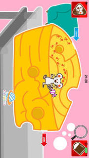 親子で一緒に楽しめる幼児・子供向け無料アプリ「ねずみの迷路大冒険」(右脳が発達する知育学習用教材)のスクリーンショット_5