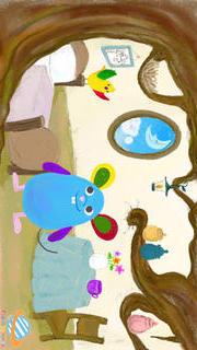 親子で楽しめる赤ちゃん・幼児・子供向け動く絵さがし絵本「どこにいるかな?」(右脳が発達する知育学習用無料アプリ)のスクリーンショット_5