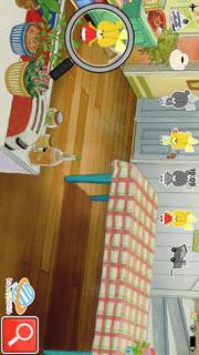 親子で一緒に楽しめる幼児・子供向け無料アプリ「がんばれ!ルルロロの虫めがね探検」観察力と感性を豊かにする知育学習のスクリーンショット_2