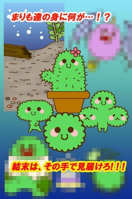 かわいい育成ゲーム 『まりまりも育成日記』のスクリーンショット_2
