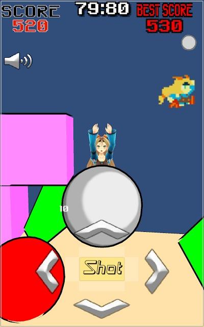 Unity-たまごシューターのスクリーンショット_2
