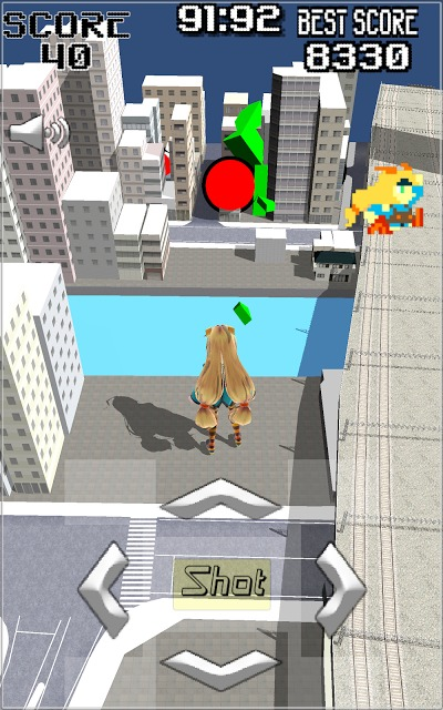 Unity-AKIBA Shooter 3Dのスクリーンショット_2