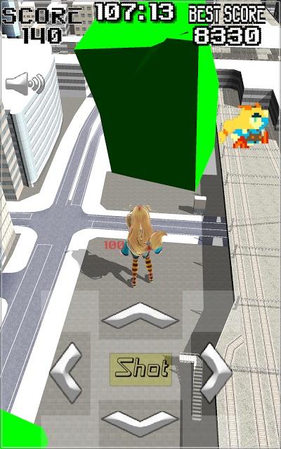 Unity-AKIBA Shooter 3Dのスクリーンショット_3