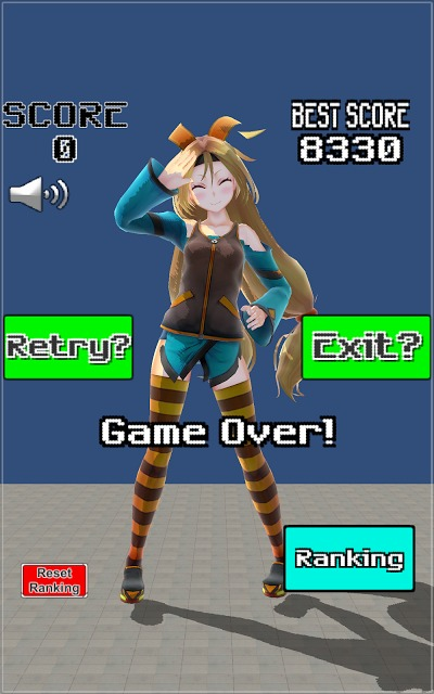 Unity-AKIBA Shooter 3Dのスクリーンショット_4