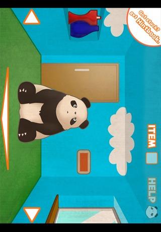 パンダ脱出ゲームのスクリーンショット_1