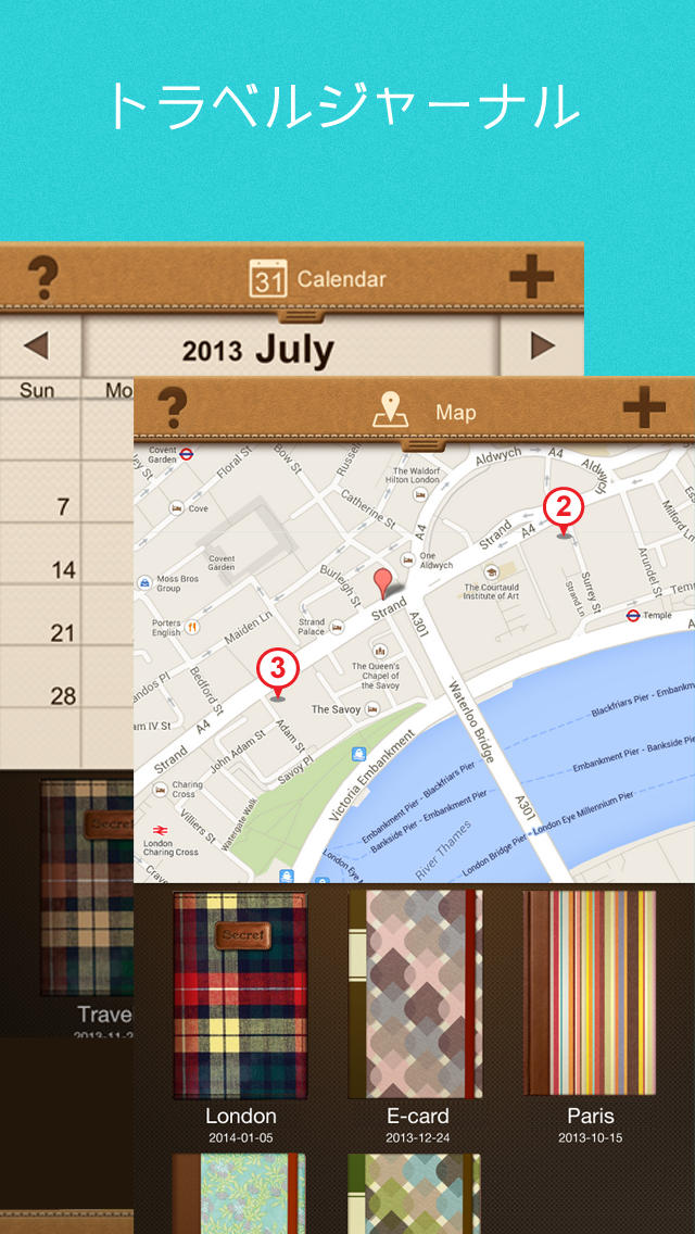 NoteLedge Premium - 手書き、スケッチ、写真、動画に録音まで!贅沢な多機能デジタルノートアプリのスクリーンショット_3