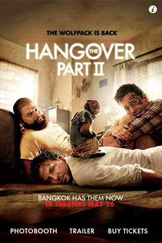The Hangover Part II Photoboothのスクリーンショット_1
