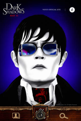 Dark Shadows: Photo Filter Appのスクリーンショット_1