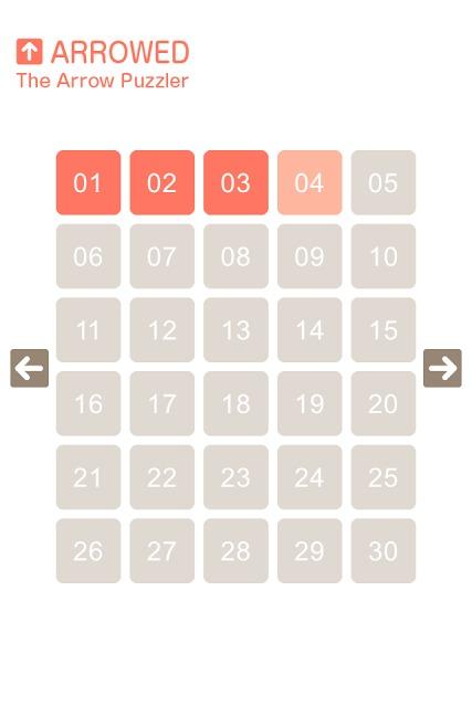 Arrowed 矢印のパズルのスクリーンショット_3