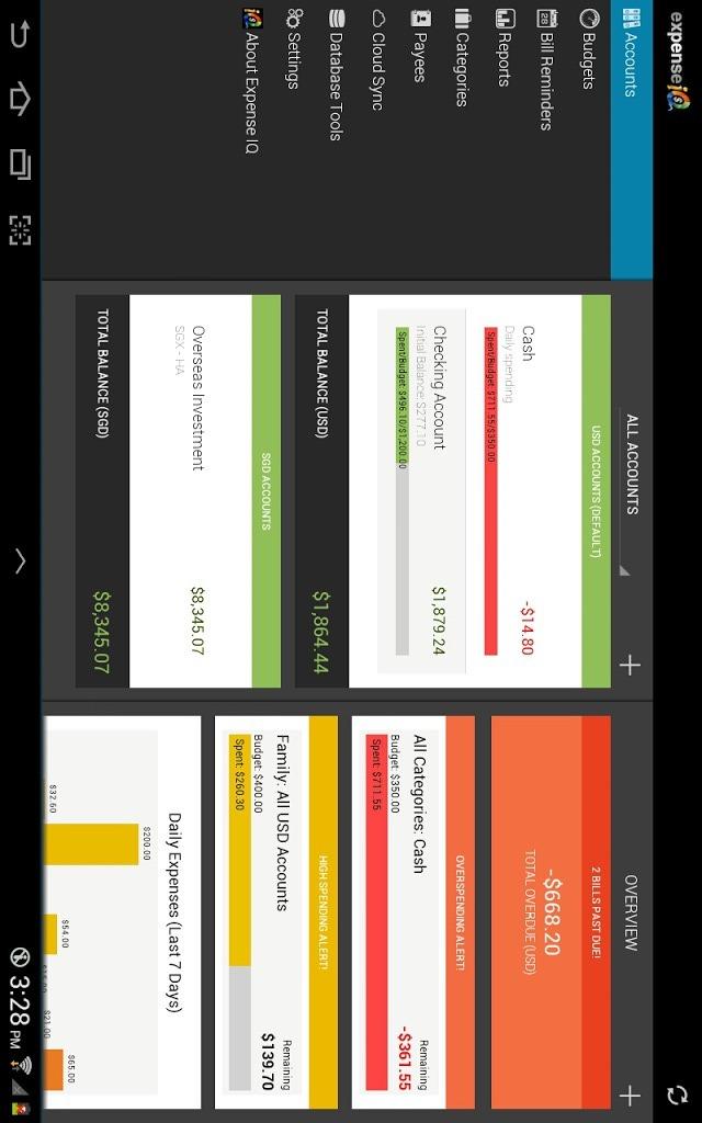 Expense IQ - Expense Managerのスクリーンショット_1