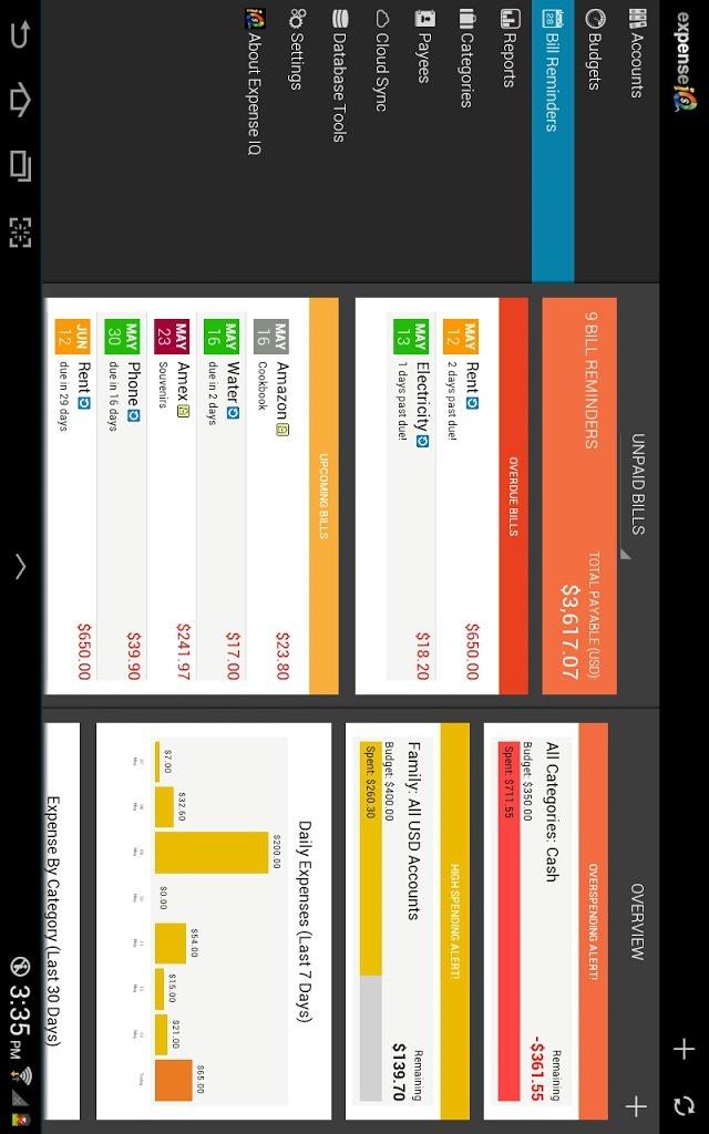 Expense IQ - Expense Managerのスクリーンショット_2