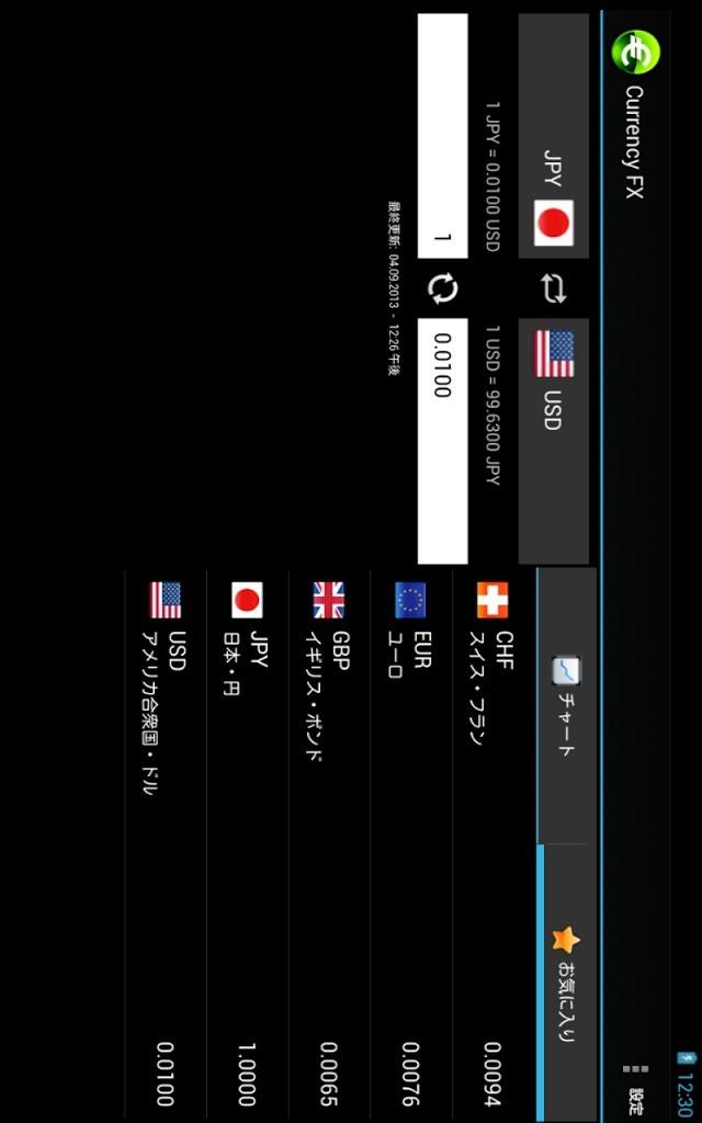 Currency FX - 為替レートのスクリーンショット_1