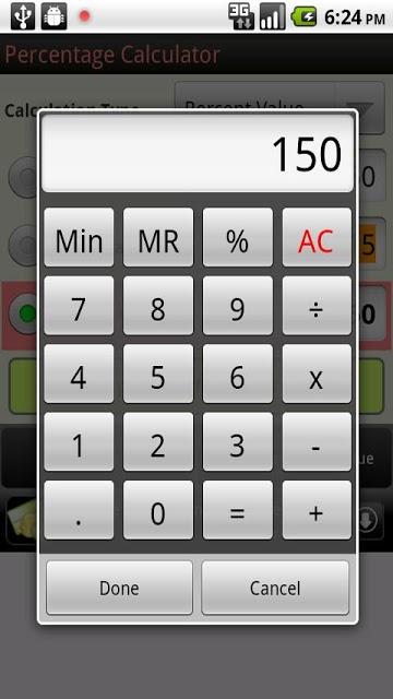 Percentage Calculatorのスクリーンショット_2