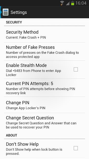 AppLock - App Lock & Protectのスクリーンショット_4