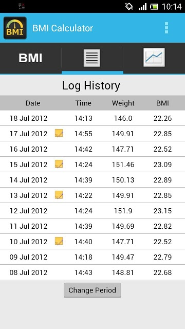 BMI Calculator - Track Weightのスクリーンショット_2