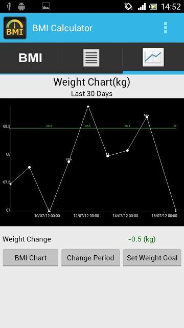 BMI Calculator - Track Weightのスクリーンショット_3