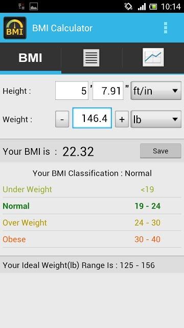 BMI Calculator - Track Weightのスクリーンショット_5