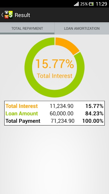 Loan Calculatorのスクリーンショット_3