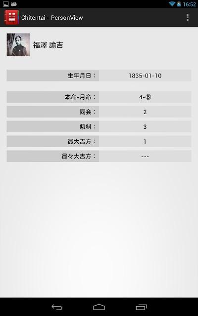 Chitentai 本命月命順アドレス帳のスクリーンショット_2