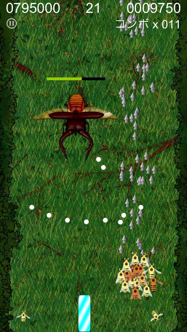 BeeCluster - 無料の縦スクロールシューティングゲームのスクリーンショット_2
