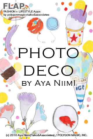 PHOTO DECO by Aya Niimiのスクリーンショット_1