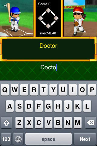 Hit!! Typing Baseballのスクリーンショット_2