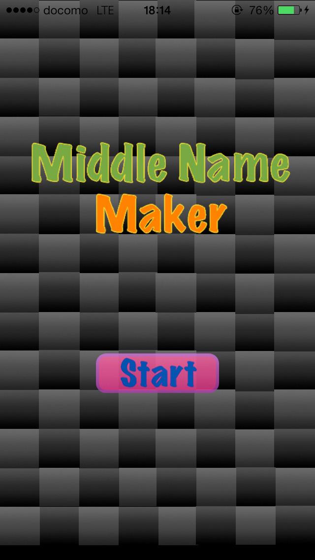MiddleNameMaker~無料で改名、ミドルネーム作成のスクリーンショット_2