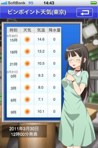 萌えテレ(日向 四月咲) CV:沢城みゆきのスクリーンショット_5