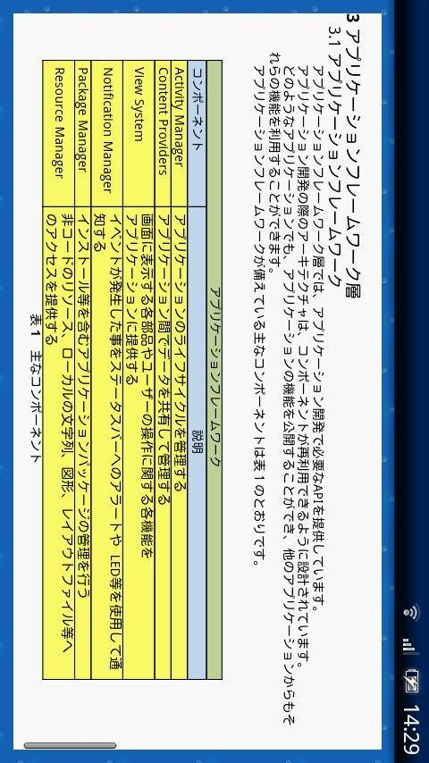 ドコモゼミ資格 スマートAndroidエデュケーション第6章のスクリーンショット_2