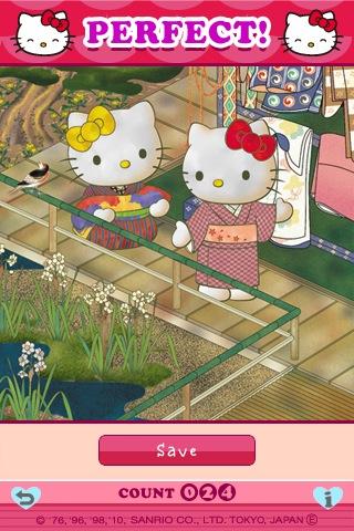 ハローキティ15パズル(日)のスクリーンショット_2
