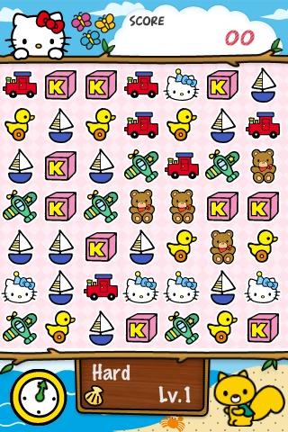 Hello Kitty Match3 Maniacsのスクリーンショット_1