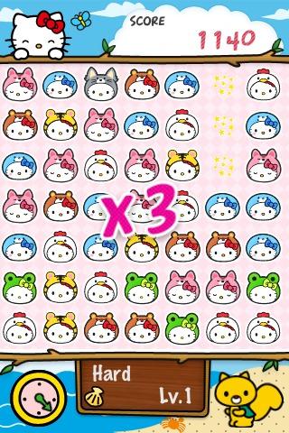 Hello Kitty Match3 Maniacsのスクリーンショット_5
