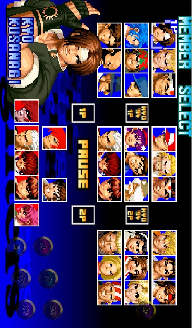 THE KING OF FIGHTERS '97のスクリーンショット_1