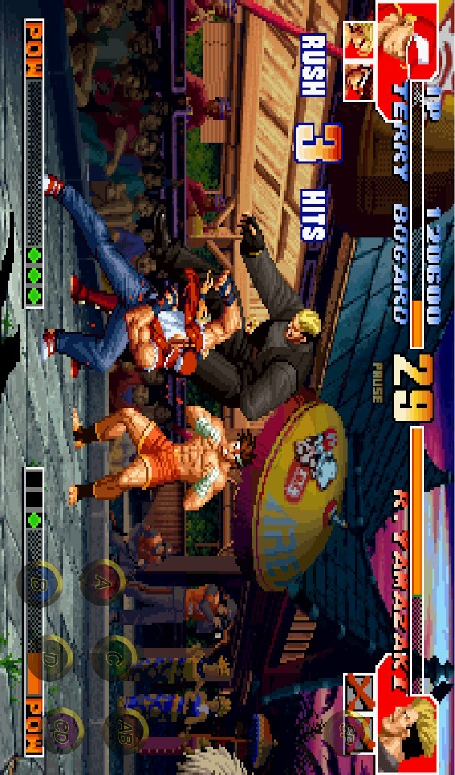 THE KING OF FIGHTERS '97のスクリーンショット_2
