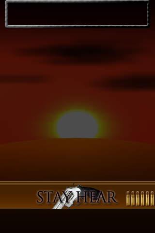 反射神経テスト Gunman Version Freeのスクリーンショット_2
