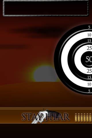 反射神経テスト Gunman Version Freeのスクリーンショット_3